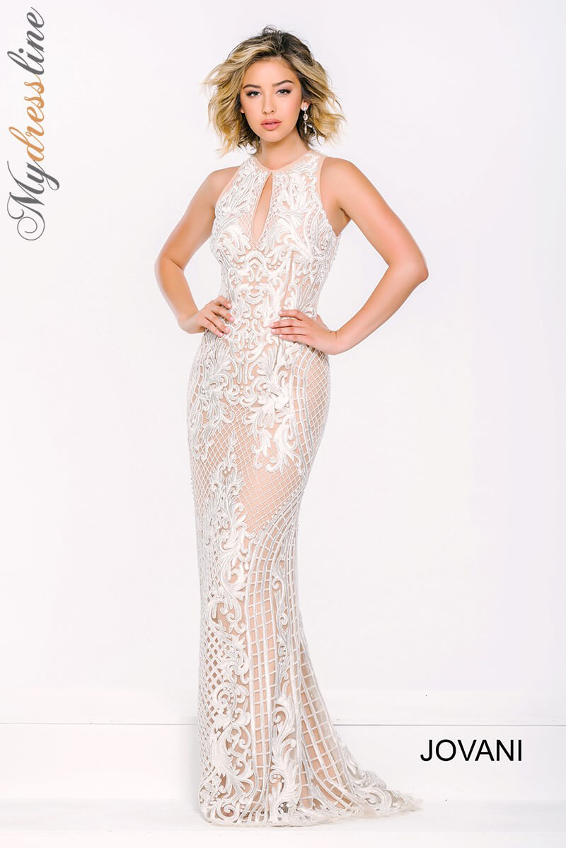 Jovani 37687 Evening Dress ~LOWEST PRICE GUARANTEED~ NEW Authentic Formal Gown