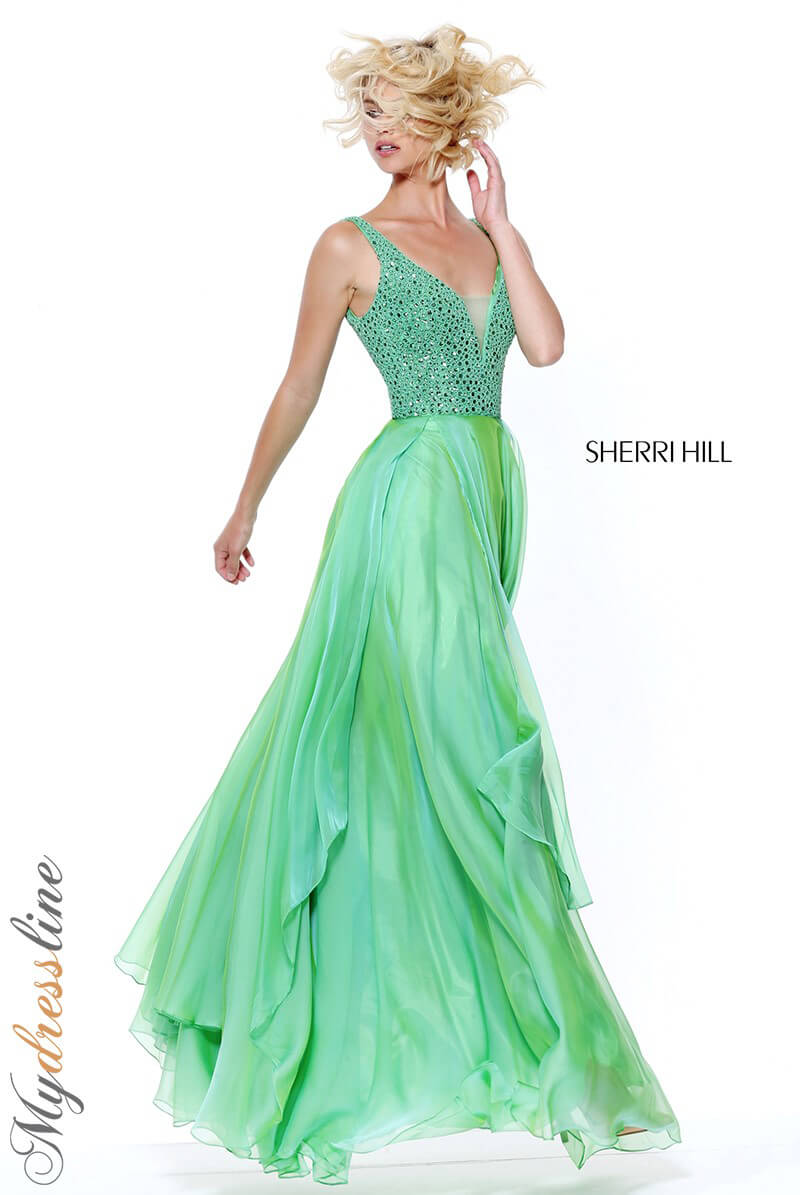63757173ce6 Details about Sherri Hill 50801 Long Evening Dress ~LOWEST PRICE GUARANTEE~  NEW Authentic Gown