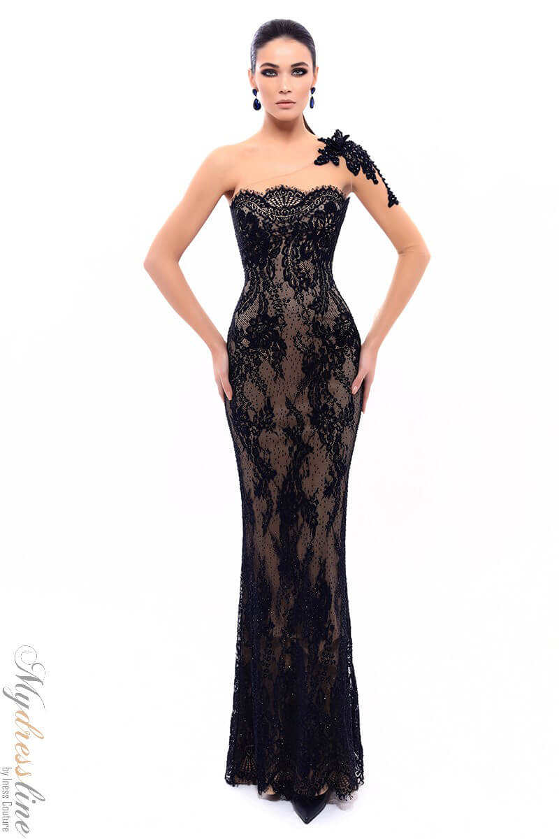 9eb83dd3bdf Name  Tarik Ediz 93335 Evening Dress ~LOWEST PRICE GUARANTEED~ NEW  Authentic Gown
