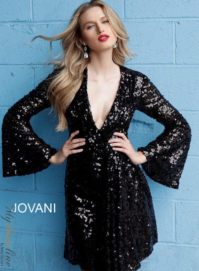 26eda9f2ca5 Details about Jovani 66256 Short Cocktail Dress ~LOWEST PRICE GUARANTEE~ NEW  Authentic