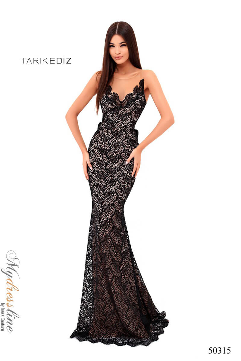 8242f91b5ac Name  Tarik Ediz 50315 Evening Dress ~LOWEST PRICE GUARANTEED~ NEW  Authentic Gown