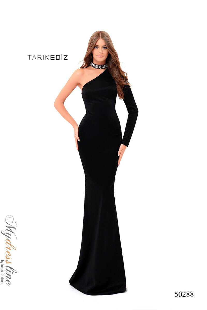 4e6bed12ee6 Name  Tarik Ediz 50288 Evening Dress ~LOWEST PRICE GUARANTEED~ NEW  Authentic Gown
