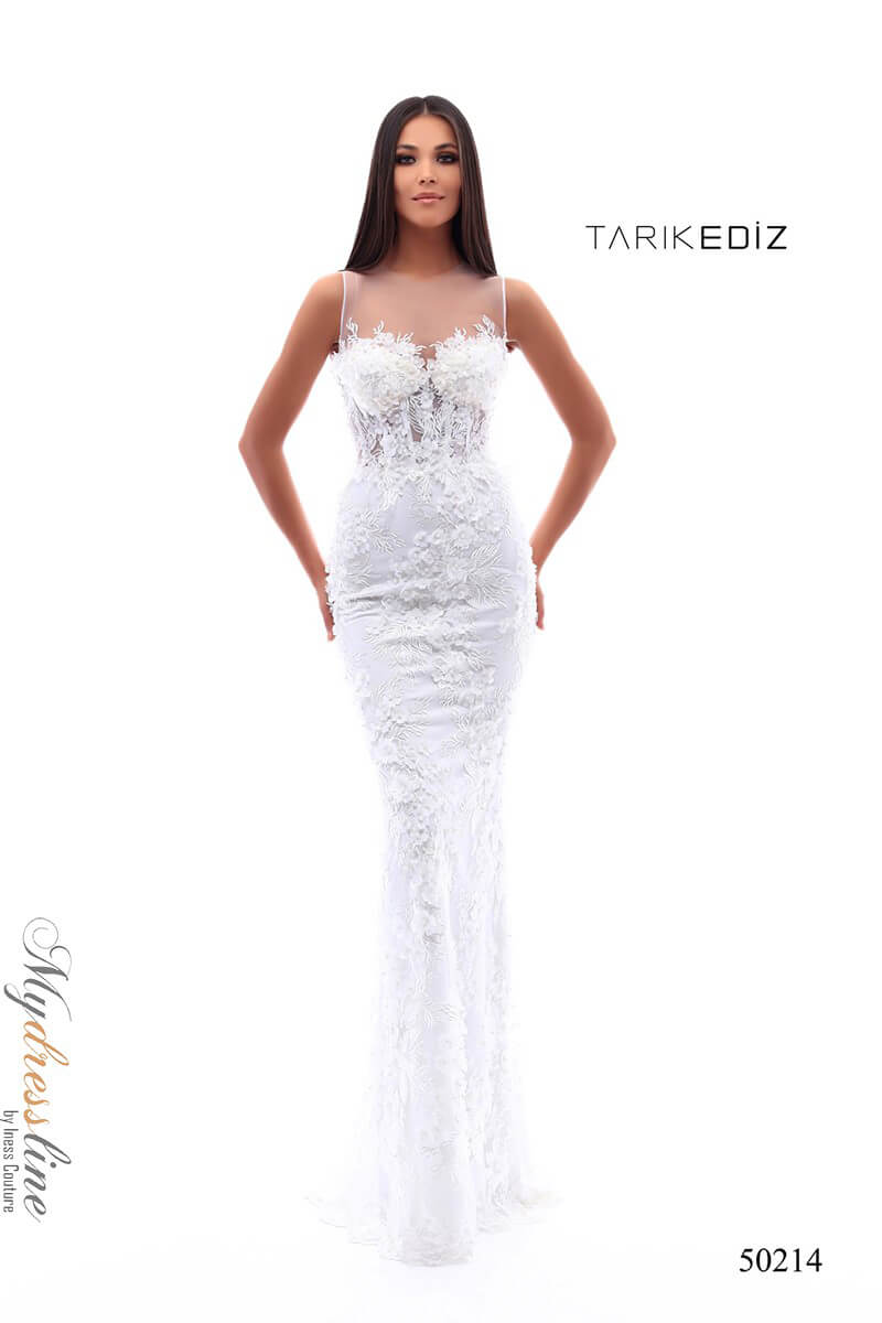 e1fba48b92e Name  Tarik Ediz 50214 Evening Dress ~LOWEST PRICE GUARANTEED~ NEW  Authentic Gown