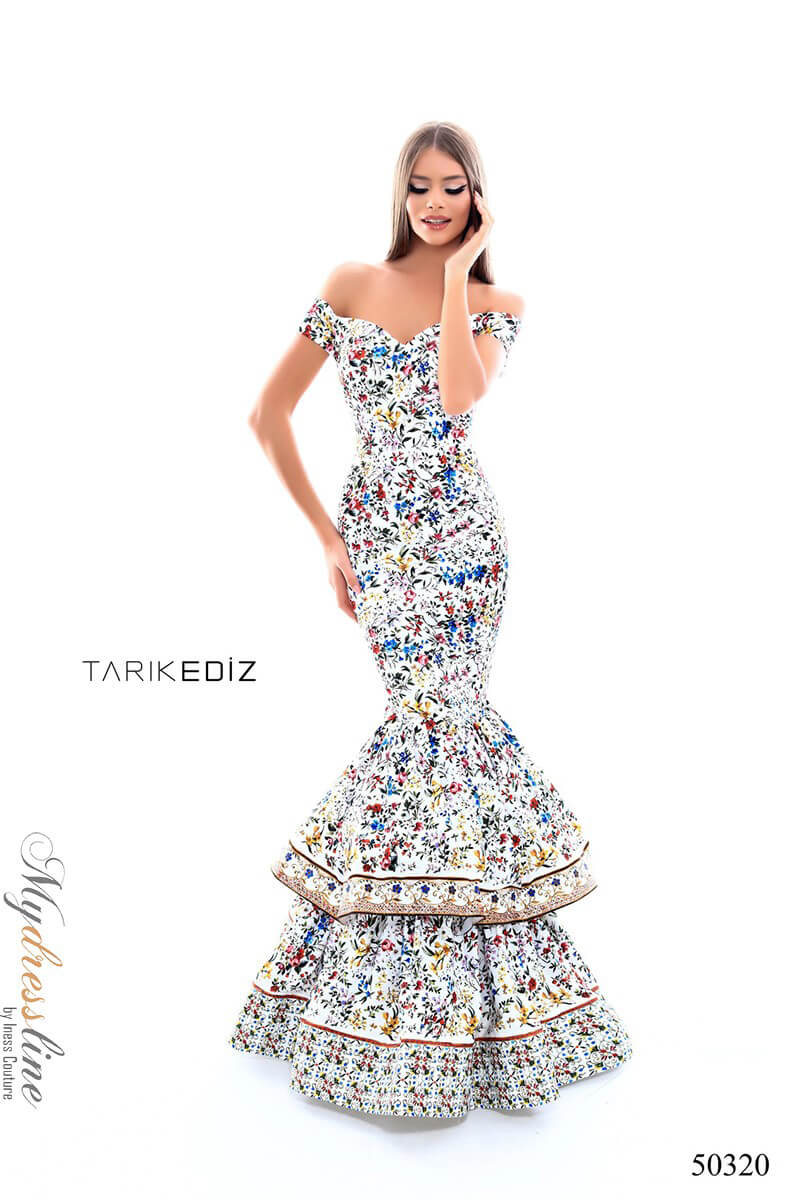 8dc01adc551 Name  Tarik Ediz 50320 Evening Dress ~LOWEST PRICE GUARANTEED~ NEW  Authentic Gown