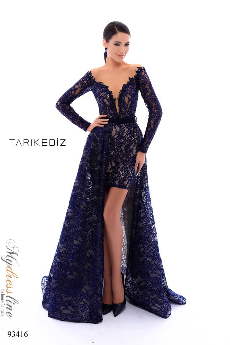 97b4486d9b4 Details about Tarik Ediz 93416 Evening Dress ~LOWEST PRICE GUARANTEED~ NEW  Authentic Gown