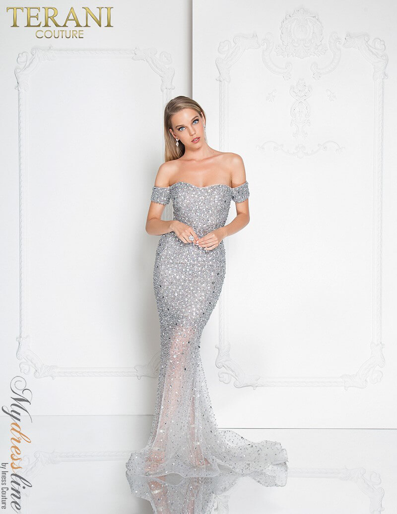 Terani Couture 1812GL5359 Evening Dress ~LOWEST PRICE GUARANTEED ...