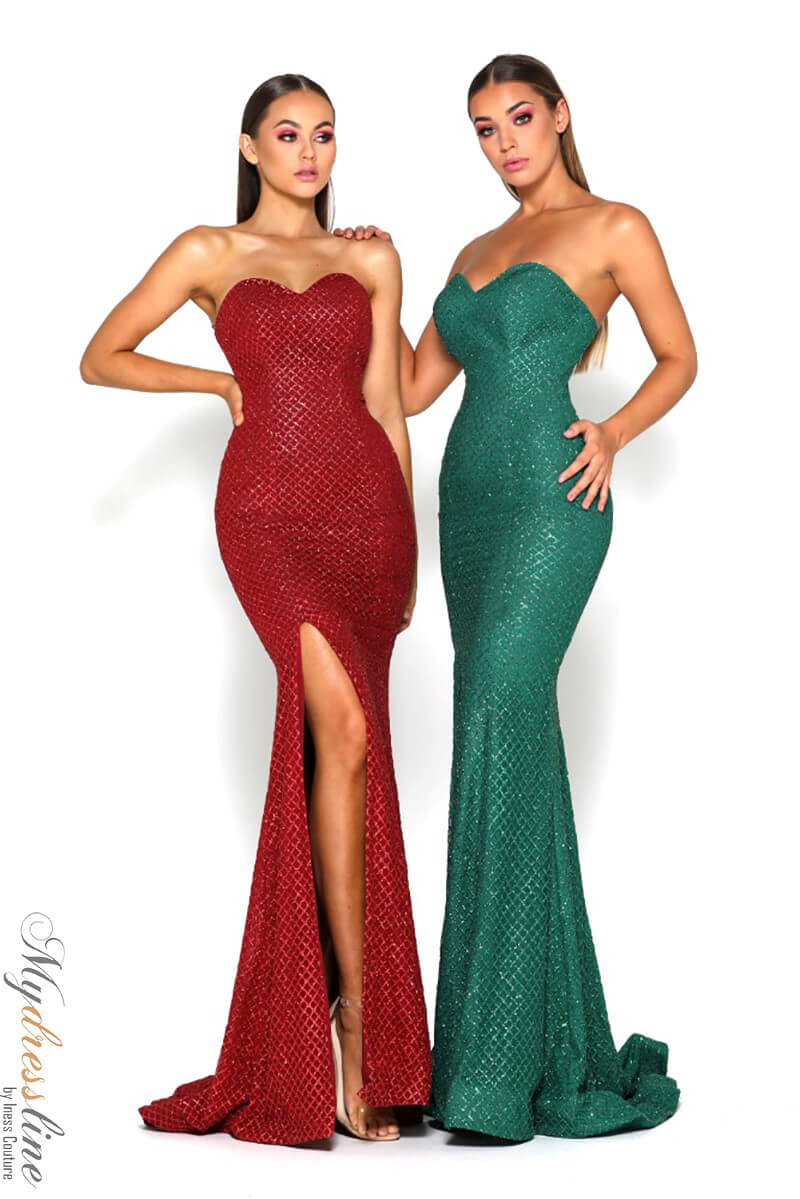 e72ff2041aa2 Portia & Scarlett Tyra Dress ~LOWEST PRICE GUARANTEED~ NEW Authentic Gown