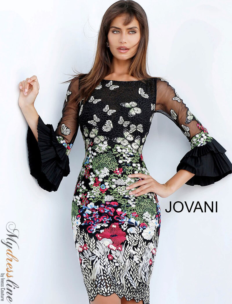 f68908f2090 Jovani Cocktail Dresses With Sleeves