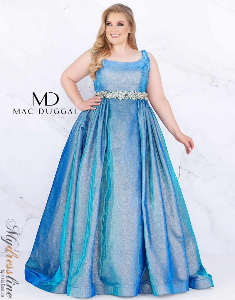 0ad83a7e674 Details about Mac Duggal 66817F Evening Dress ~LOWEST PRICE  GUARANTEE~Authentic Gown