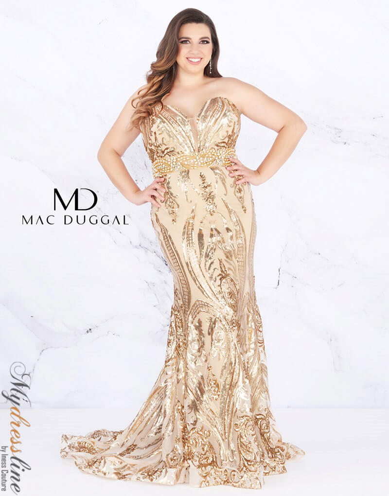 cc526c276fa Mac Duggal Plus Size Long Formal Dresses