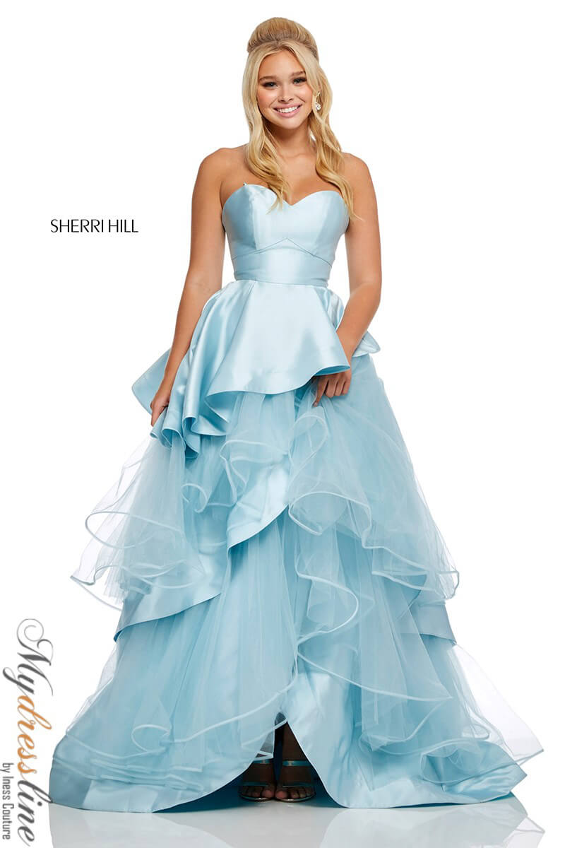 e7e2c239c72 Details about Sherri Hill 52718 Long Evening Dress ~LOWEST PRICE GUARANTEE~  NEW Authentic Gown