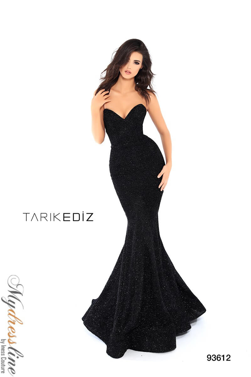 dd5b6ad8afe Details about Tarik Ediz 93612 Evening Dress ~LOWEST PRICE GUARANTEED~ NEW  Authentic Gown