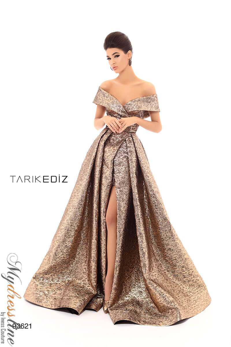 327b404e65f Details about Tarik Ediz 93621 Evening Dress ~LOWEST PRICE GUARANTEED~ NEW  Authentic Gown