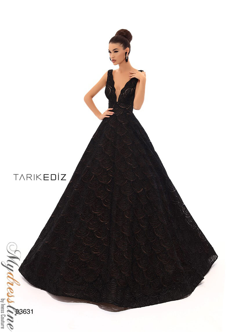 d08a64b011b Details about Tarik Ediz 93631 Evening Dress ~LOWEST PRICE GUARANTEED~ NEW  Authentic Gown