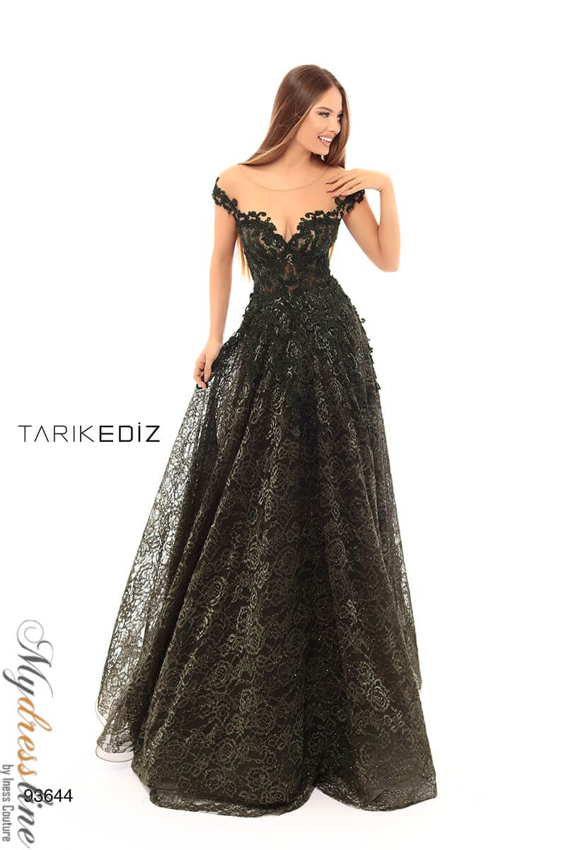 8e4175ca633 Name  Tarik Ediz 93644 Evening Dress ~LOWEST PRICE GUARANTEED~ NEW  Authentic Gown