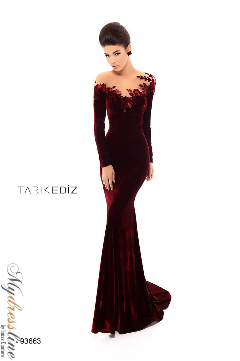 91bfc4c132b Tarik Ediz 93663 Evening Dress ~LOWEST PRICE GUARANTEED~ NEW Authentic Gown