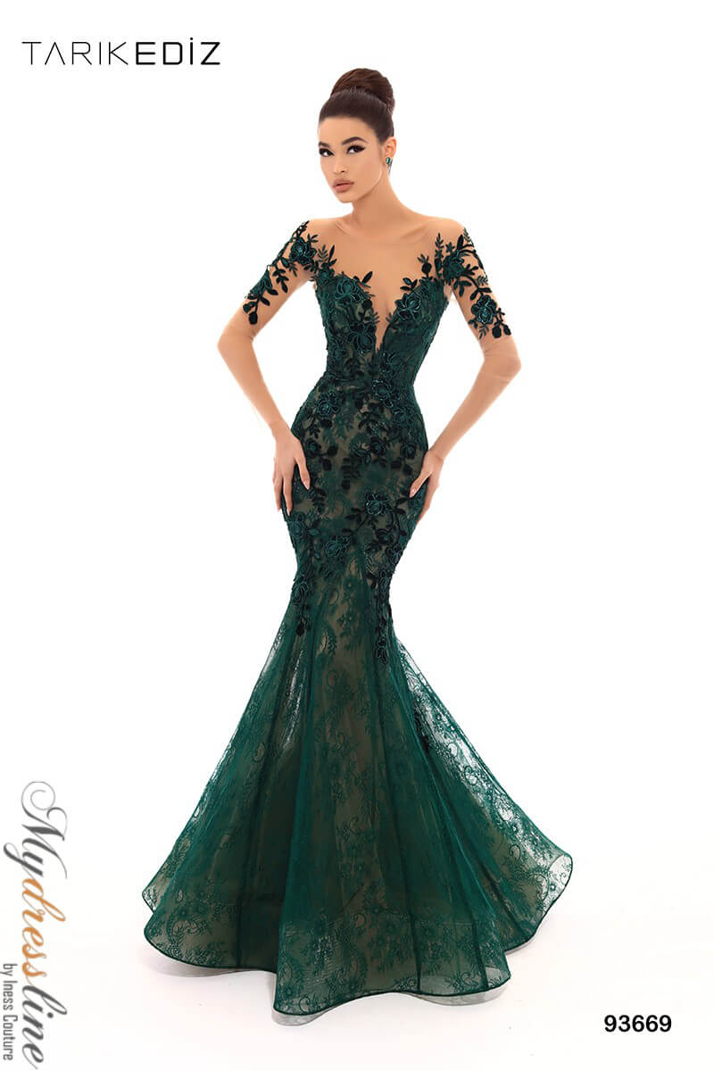 297ff3e323e Tarik Ediz 93669 Evening Dress ~LOWEST PRICE GUARANTEED~ NEW Authentic Gown