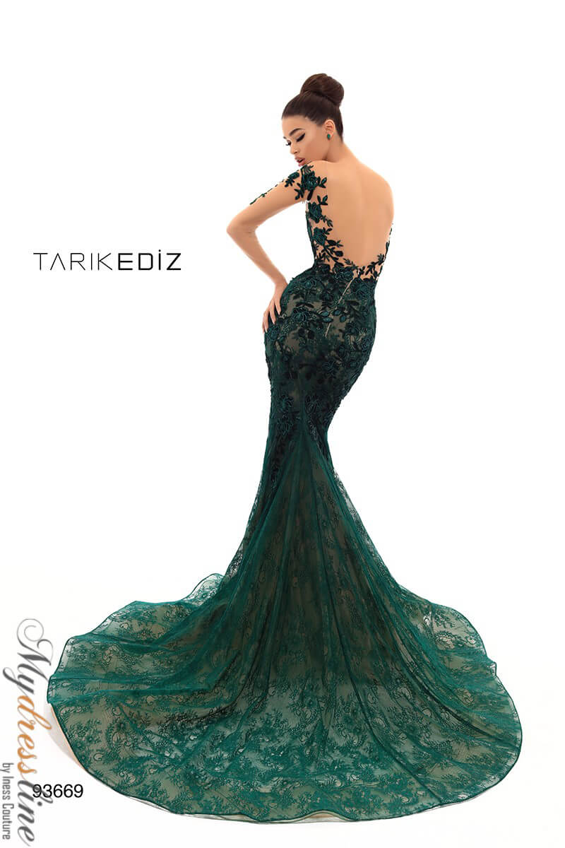 10ea37de4b8 Name  Tarik Ediz 93669 Evening Dress ~LOWEST PRICE GUARANTEED~ NEW  Authentic Gown