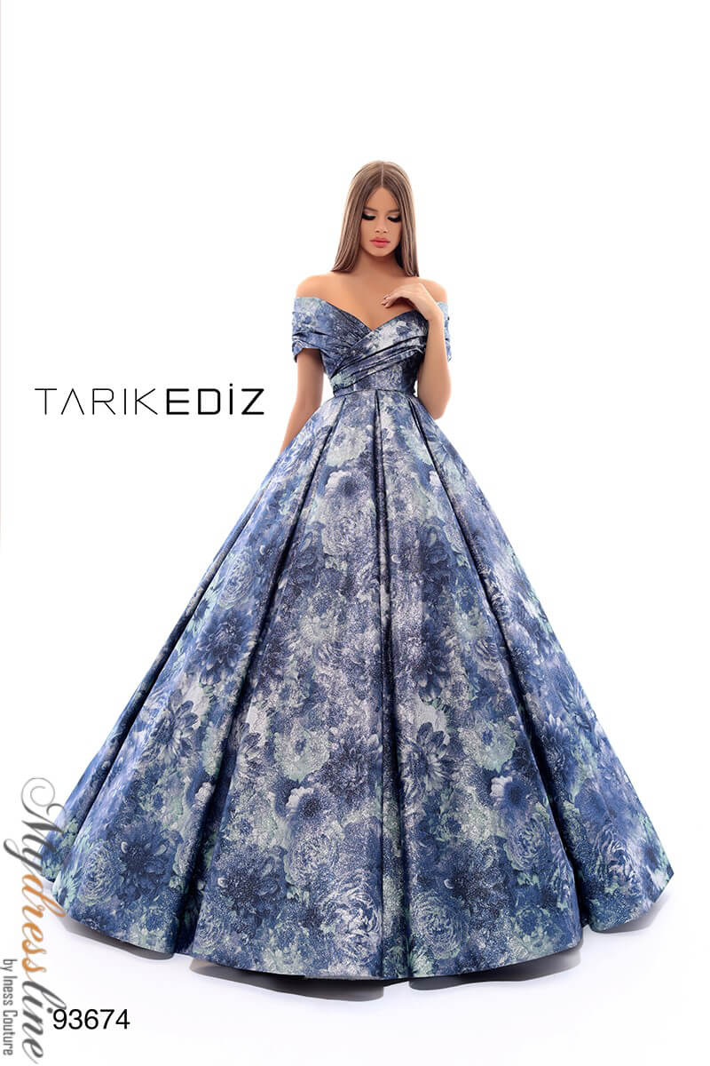 4da6544a6ea Image is loading Tarik-Ediz-93674-Evening-Dress-LOWEST-PRICE-GUARANTEED-