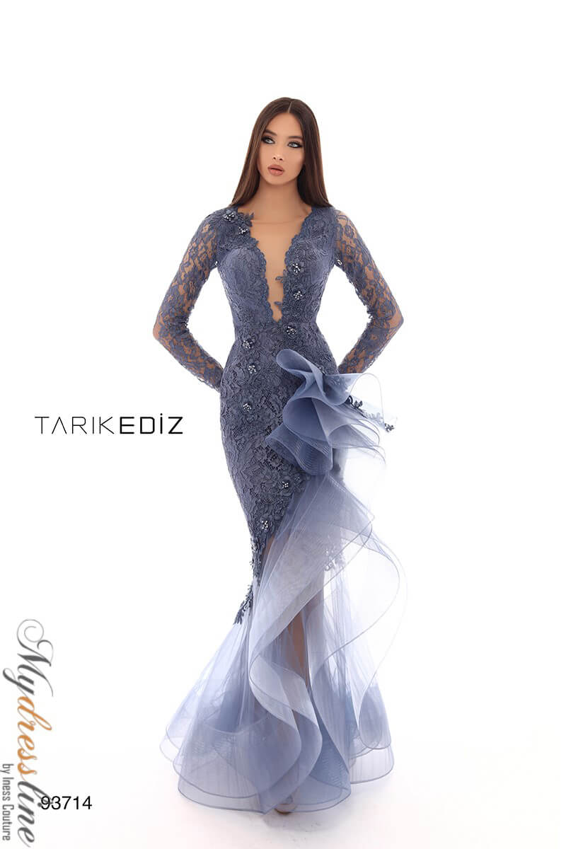 f1f3bfe1cc5 Name  Tarik Ediz 93714 Evening Dress ~LOWEST PRICE GUARANTEED~ NEW  Authentic Gown