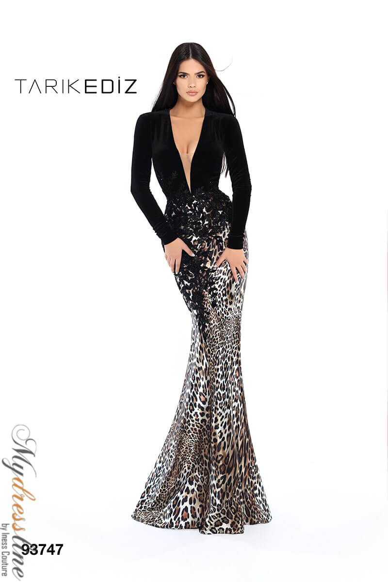 b6944ad960d Name  Tarik Ediz 93747 Evening Dress ~LOWEST PRICE GUARANTEED~ NEW  Authentic Gown