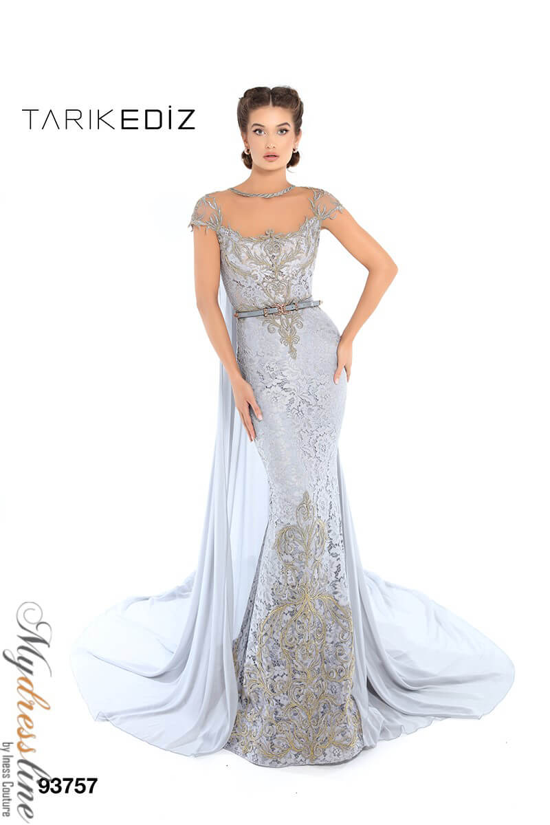 4fee7982e23 Name  Tarik Ediz 93757 Evening Dress ~LOWEST PRICE GUARANTEED~ NEW  Authentic Gown