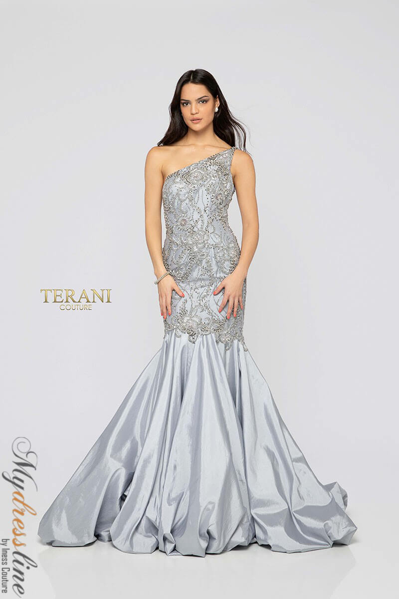 Details About Terani Couture 1911p8367 Evening Dress Lowest Price Guaranteed New Authentic