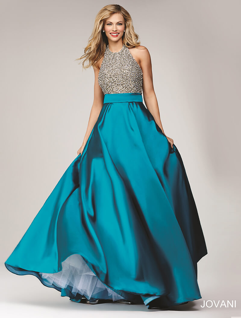 jovani blue prom dress sale